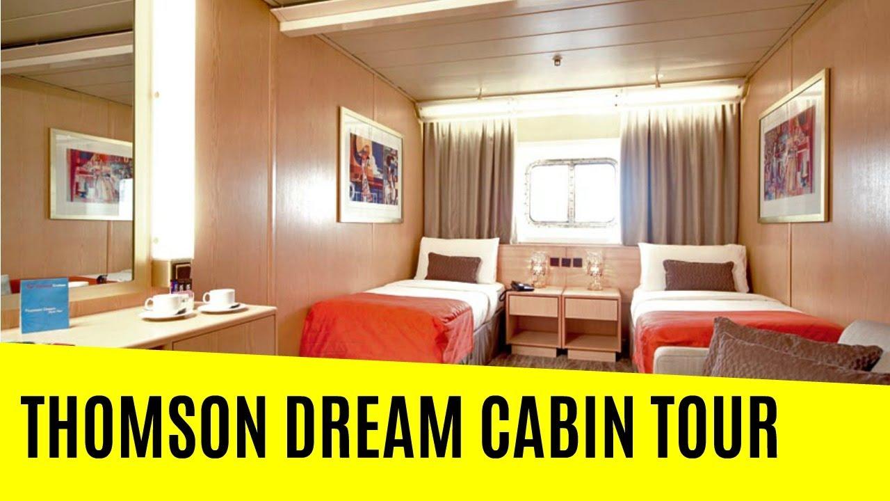 Thomson Dream Cabin Tour Youtube