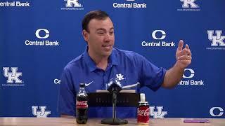 Kentucky Baseball Coach Nick Mingione  2018 Media Day Interview