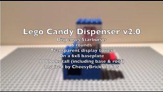 Lego Candy Dispenser V2.0 [starbursts]