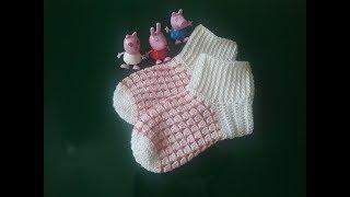Детские носочки крючком / How crochet socks