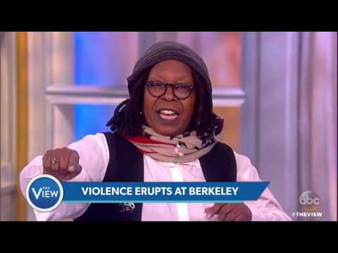 Protests Turn Violent at UC Berkeley | The View