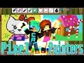 Hello Kitty in Candyland - Hypixel Pixel Painters with Gamer Chad | Minecraft Minigame