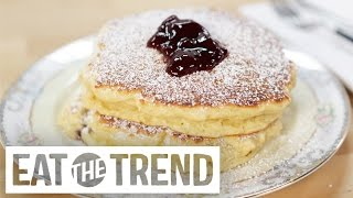 Jelly Doughnut Pancakes With Gemma Stafford | Eat the Trend