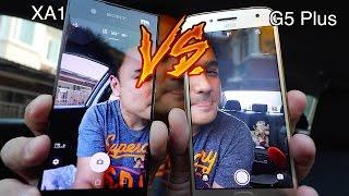 Sony Xperia XA1VS Moto G5 plus : ทดสอบ Camera Test!