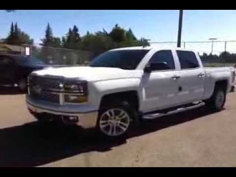 New White 2017 Chevrolet Silverado 1500 4wd Crew Cab Lt 4 Door In Brooks Ab