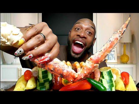 king-crab-seafood-boil-mukbang-해물먹방-with-blove-sauce-...-eating-show-먹방.