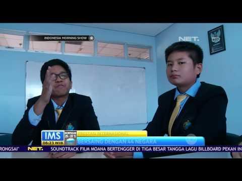 12 Siswa Global Sevilla School Jakarta Boyong 44 Medali di Ajang The World Scholar's Cup 2016