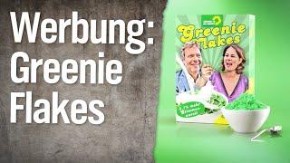 Werbung: Die neuen Grünen – Greenie Flakes