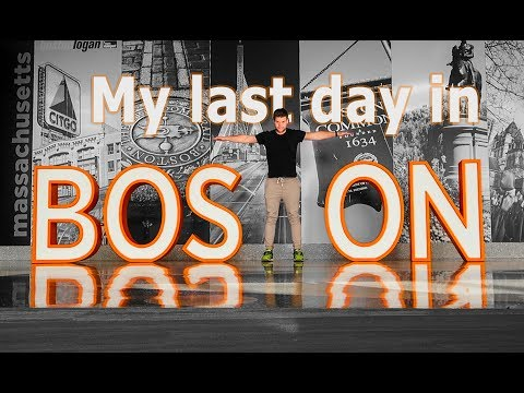 Time flies! My last day in America - Boston... - Travel vlog