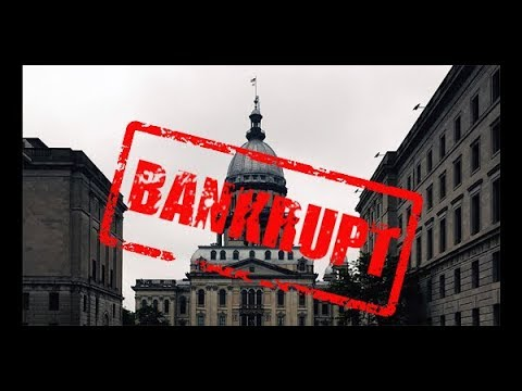 JOHN RUBINO - Illinois Bankruptcy To Trigger Current Collapse