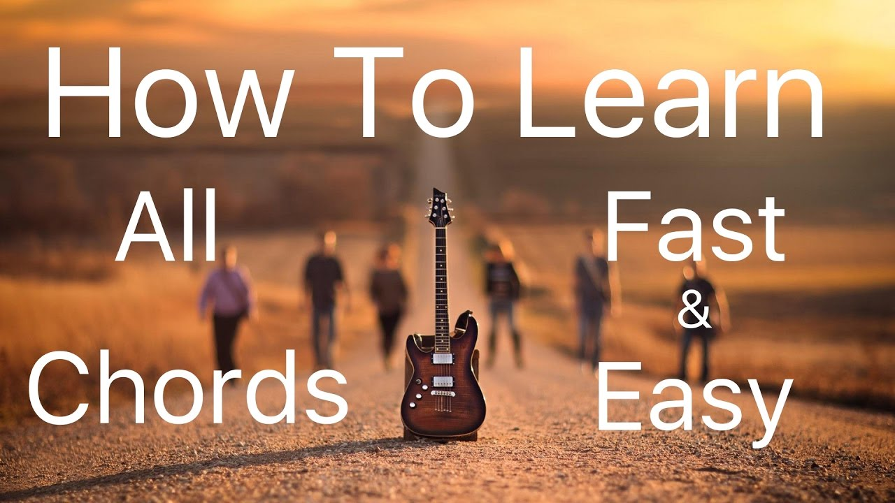 Learn All Chords Fast Easy Complete Guitar Lessons By Mayoor