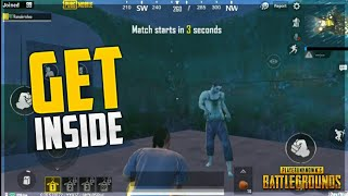 HOW TO GET INSIDE NEAR TO ZOMBIE ON PUBG MOBILE GLOBAL VERSION 0.11 UPDATE