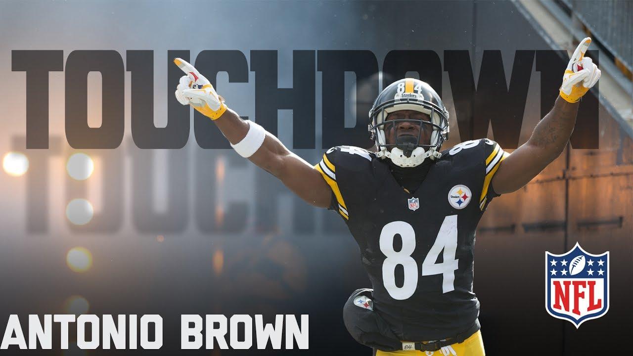 Every Antonio Brown Touchdown... So Far  783751503