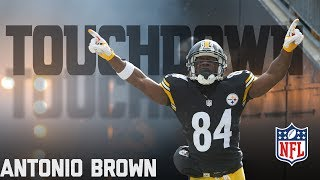 Every Antonio Brown Touchdown... So Far | NFL Highlights