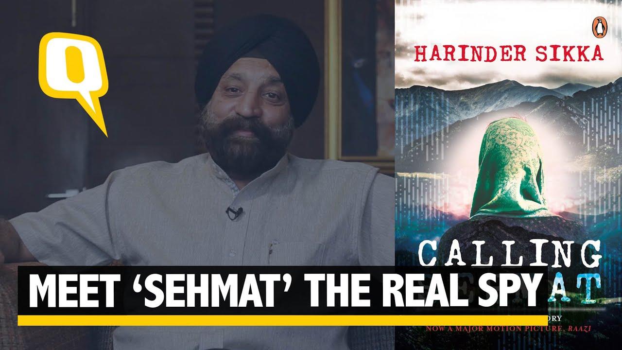 Who Was Sehmat In Alia Bhatt Starrer Raazi Author Harinder Sikka Will Reveal The Spy