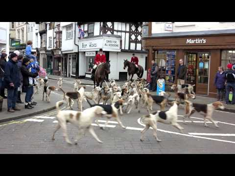 North Herefordshire Hunt Boxing Day 2012