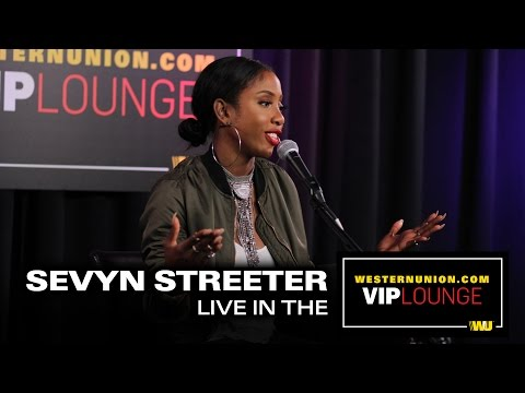 Sevyn Streeter Performs Live Inside The WesternUnion Com VIP Lounge
