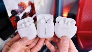 Testing New AirPods Pro Clones! Huawei FreeBuds 3, Vivo TWS & Oppo Enco Free