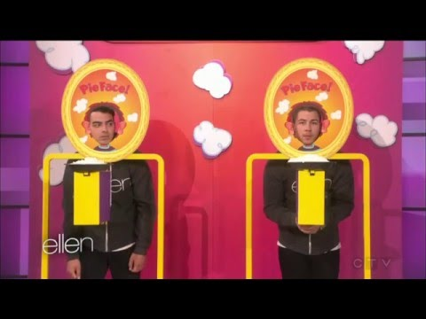 Nick Jonas with Joe Jonas - part #4 (game) - Ellen degeneres show 2016