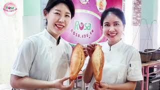 Cảm nhận học viên Hàn Quốc học Bánh Mì Việt Nam tại Rosa, Biên Hòa, Đồng Nai