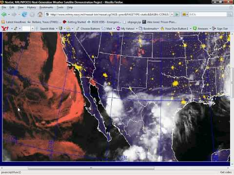 Pacific Ocean Satellite Weather Map.Chemtrail Grid Pacific Ocean Loop From Weather Satellite Youtube