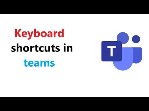 All shortcuts Microsoft teams keyboard shortcuts | teams keyboard shortcuts #microsoftteams