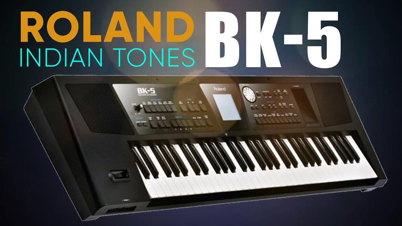 Roland BK 5 Demo Amazing Indian Tones