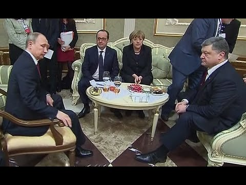 Putin, Poroshenko handshake, Minsk talks behind the scenes