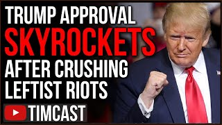 Trump Approval SKYROCKETS After Crushing BLM Leftist Riots And Signing Historic Peace Agreements
