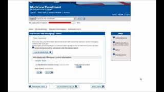 PECOS Enrollment Tutorial – Change of Information for an Individual Provider