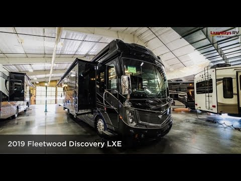 2019 Fleetwood Discovery LXE 40G Luxury RV Tour from Lazydays RV