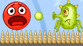 Bounce Red Ball 5 - Jump Ball Hero Adventure Gameplay Walkthrough All Level 56-72 (Android,ios)