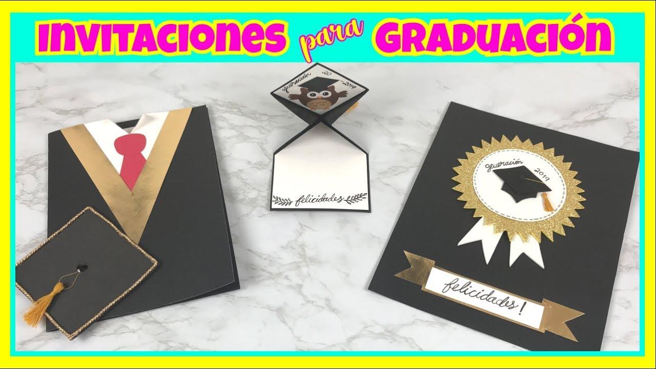Invitaciones Para Graduación Creativa Official