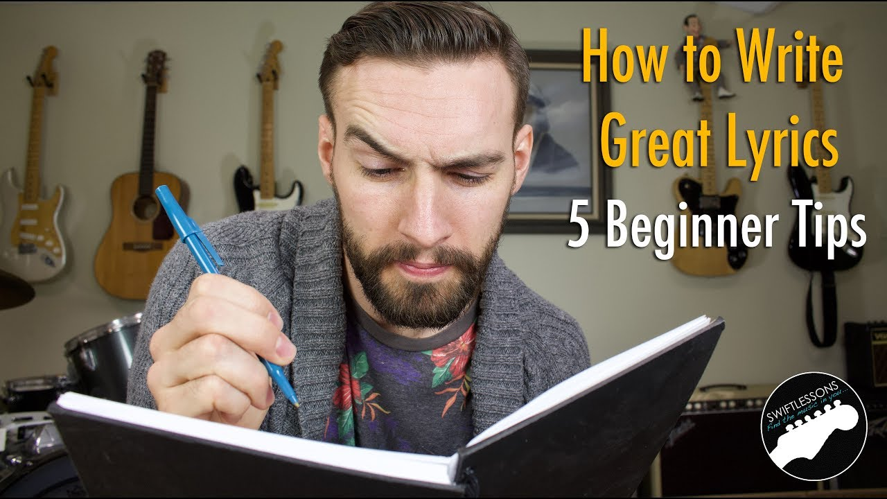 How to Write Great Lyrics - 17 Tips for Beginners!