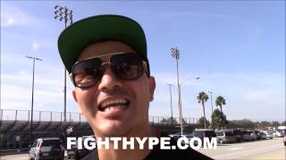 BRANDON RIOS TALKS FREE AGENT STATUS; EAGER TO TALK TO MAYWEATHER, HAYMON, ROC NATION AND MORE