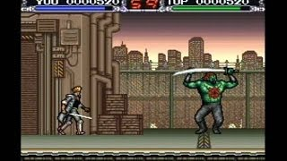 X-Kalibur 2097 SNES Walkthrough Ending Super Nintendo X Kalibur