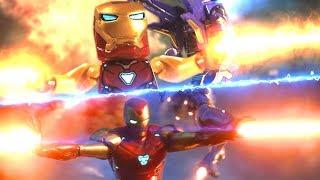 LEGO Avengers Endgame Final Battle Part 5 Avengers VS Thanos Army Side by Side Comparison