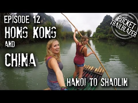 Backpacking Hong Kong & China Ep. 12 - SURVIVING Kung Fu & FAMOUS by accident!
