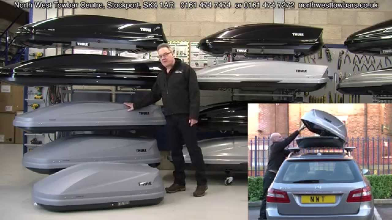thule roof box review youtube. Black Bedroom Furniture Sets. Home Design Ideas