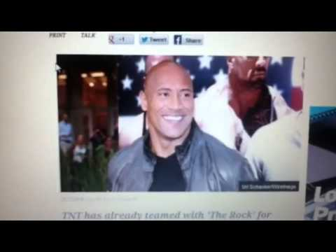 "Dwayne The Rock Johnson ""wake up call"" TV series"