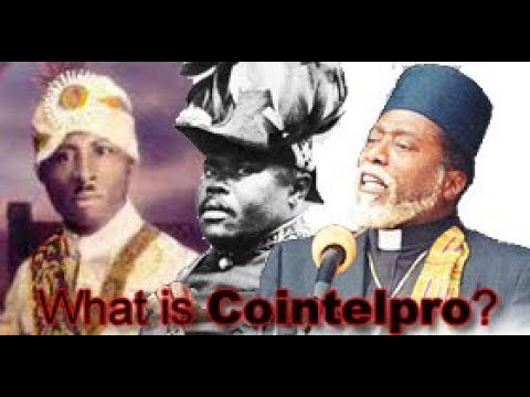 Canaanland Moors What Is cointelpro? Is Dr York El Liberian?