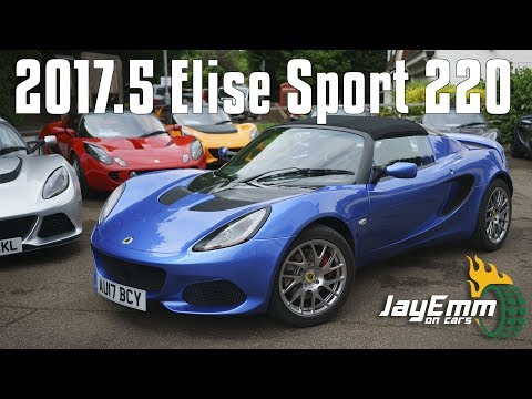 The New MY17.5 Lotus Elise Sport 220 Review