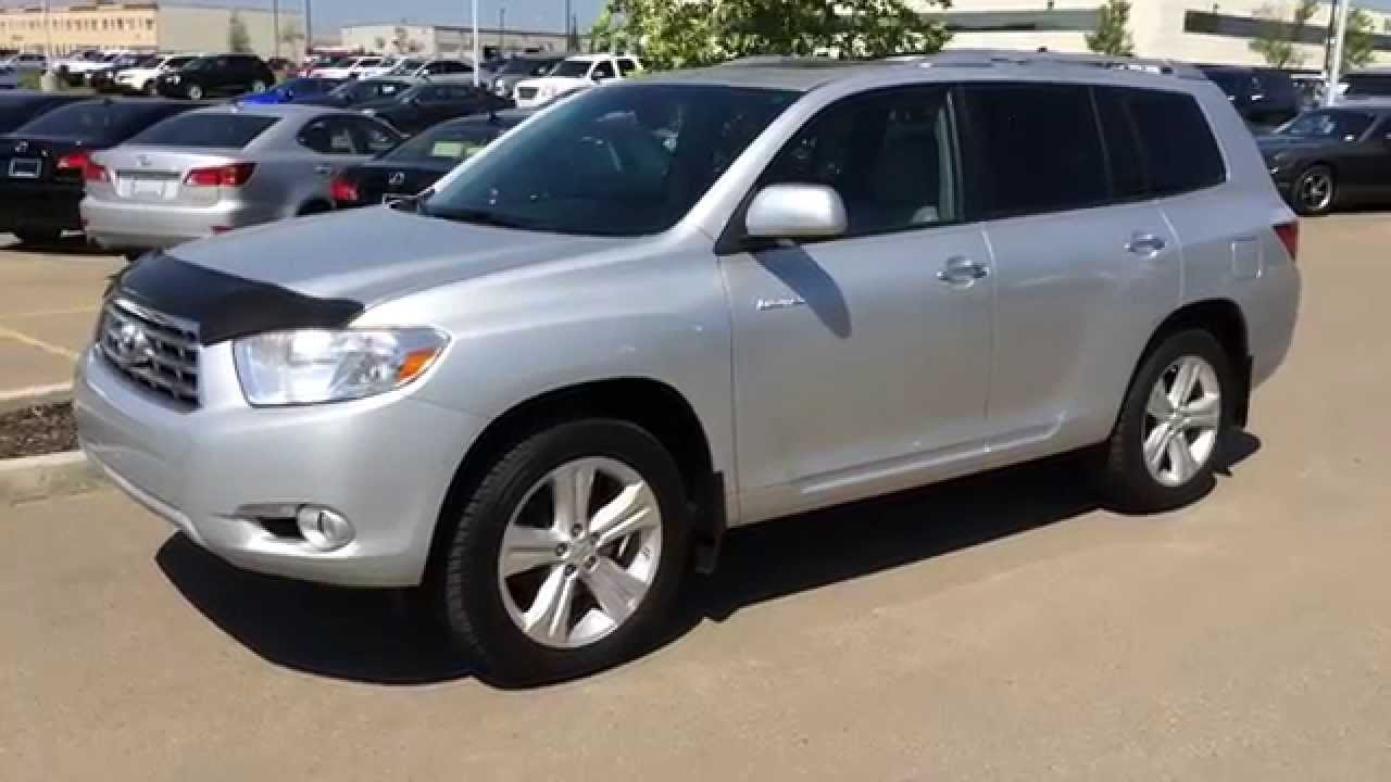 Pre Owned Silver 2010 Toyota Highlander 4wd 4dr V6 Limited