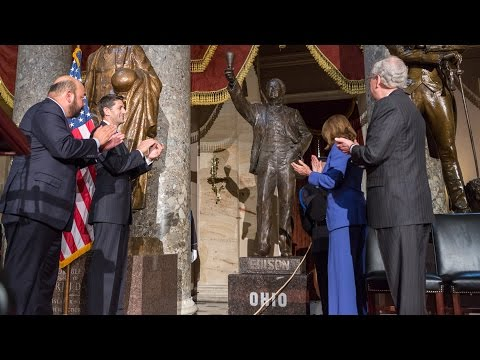Congress Dedicates Thomas Edison Statue