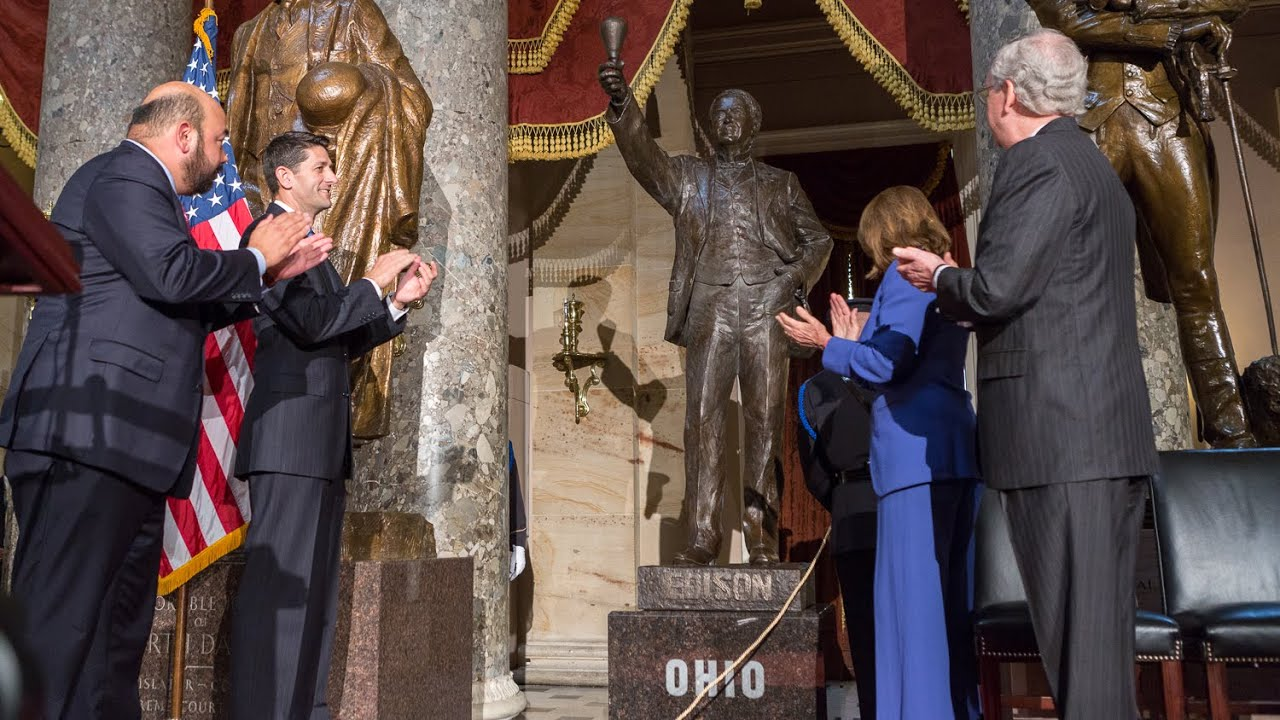 How a Statue Comes to the Capitol