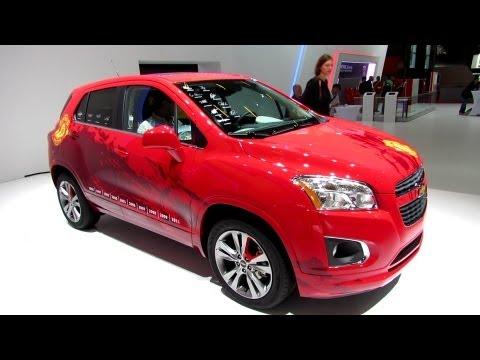 2013 Chevrolet Trax - World Premiere - Manchester United Edition - Walkaround - 2012 Paris Auto Show