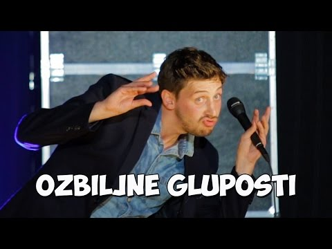 Tin Vodopivec - OZBILJNE GLUPOSTI (2015) - Stand Up Comedy