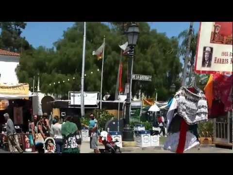 Santa Barbara Fiestas 2012: Plaza De La Guerra
