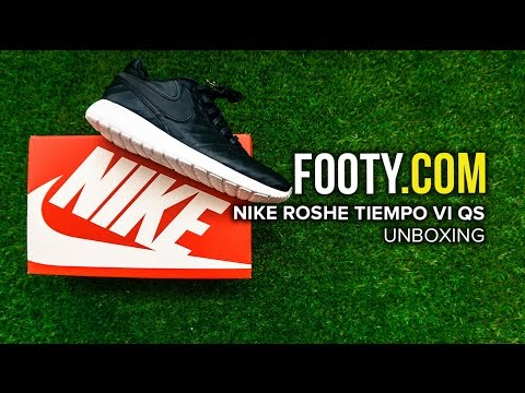 Nike Roshe Tiempo VI QS Unboxing - FOOTY