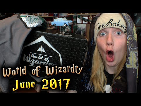 Harry Potter - World of Wizardry Unboxing | June 2017 | Geek Gear
